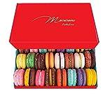 LeilaLove Macarons - 25 Parisian Macarons assorted flavors - Red Velvet