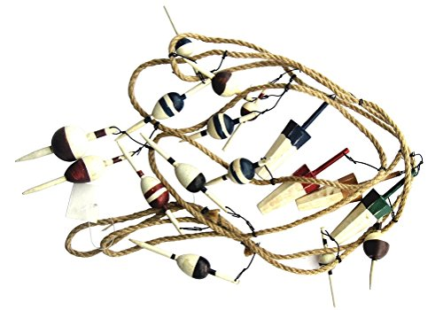 2 Strands of Fishing Bobber Garlands Each Is 17 Pc and 9 ...