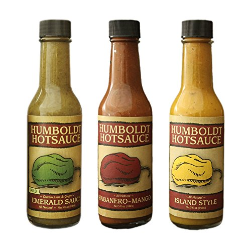 Mango Mild Hot Sauce (Humboldt Hot Sauce 3-Pack)