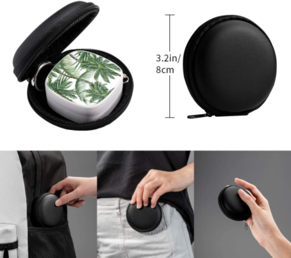 Multi USB Cable Charger Tropical Tree Plant Summer Multi 3 in 1 Retractable Multi Connection Charging Cable with Micro USB//Type C Compatible with Cell Phones Tablets and More