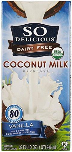 So Delicious Coconut Milk Vanilla, 32 oz