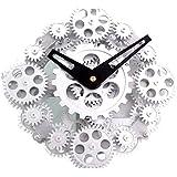 Splendido Orologio da Parete Muro con Ingranaggi a Vista DynaSun GCL06-278