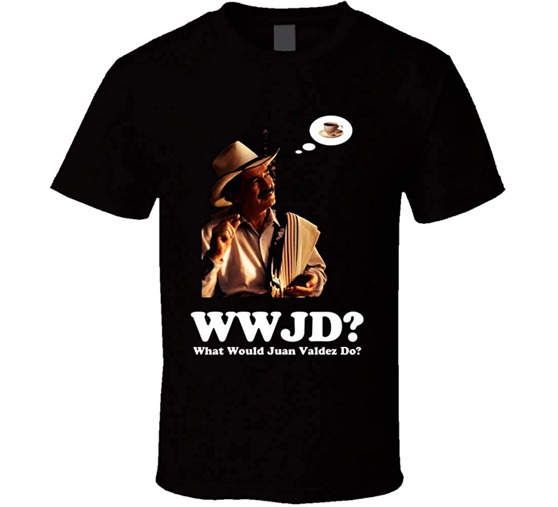 Yszm Juan Valdez Coffee Funny Joke Commercial Retro T Shirt