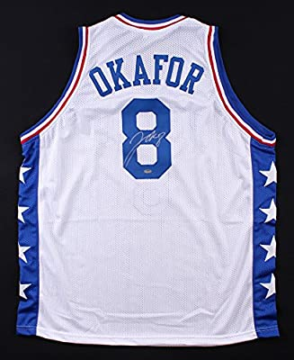 43264c51 Jahlil Okafor Signed Philadelphia 76ers Jersey at Amazon's Sports ...
