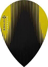 5 x Sets Harrows Sonic X Yellow Dart Flights Pear