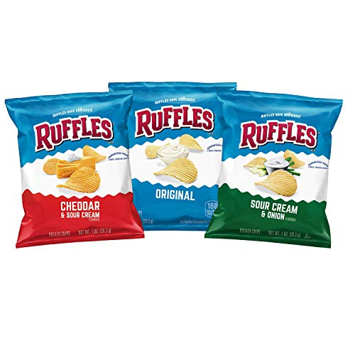 Ruffles Potato Chips Variety Pack, 40 Count -