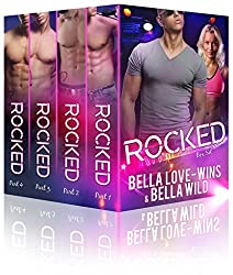 Rocked Parts 1-4 Box Set: A New Adult Rockstar Romance (Billionaire's Obsession Book 2)