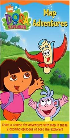 Amazon.com: Dora the Explorer - Map Adventures [VHS]: Fatima Ptacek on