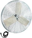 "TPI Corporation IHP30H High Performance Industrial Circulator Head, Single Phase, 30"" Diameter, 120 Volt"