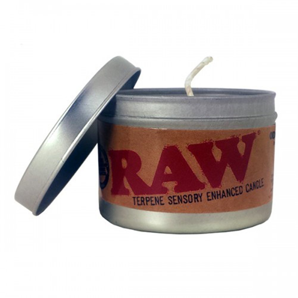 RAW Rolling Paper Sensory Enhanced Candle - LIMITED EDITION AX-AY-ABHI-68461