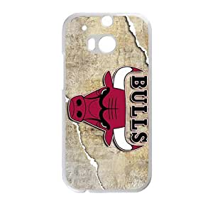 QQQO Chicago Bulls Phone case for Htc one M8