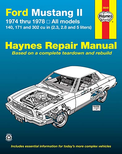 Mustang 5.0 Coupe - Ford Mustang II, 1974-1978 (Haynes Manuals)