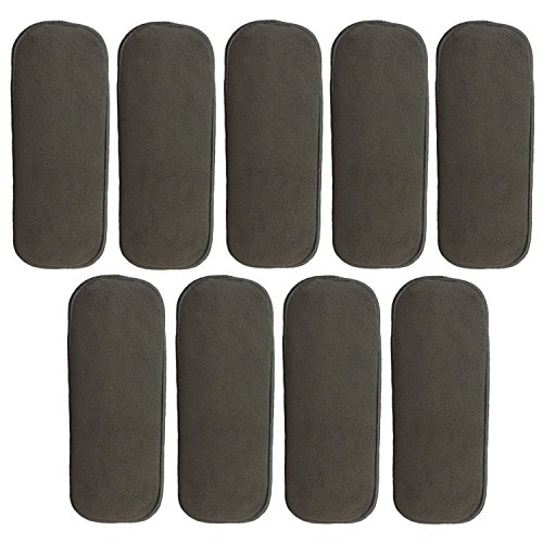 HappyEndings Newborn 5 Layer Charcoal Bamboo Inserts