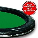Trademark Poker 3-Yards of Green Casino Grade Wool Blend Speed Cloth