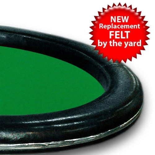 Trademark Poker 3-Yards of Green Casino Grade Wool Blend Speed Cloth by Trademark Poker