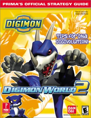 Digimon World 2 (Prima's Official Strategy Guide) (Digimon Puzzle)