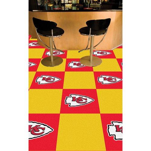 Chiefs Carpet Kansas City - NFL - Kansas City Chiefs Carpet Tiles