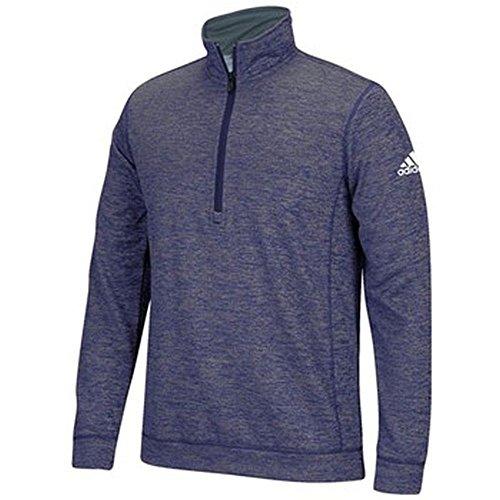 Adidas Heren Quarter Zip Purple Heathered