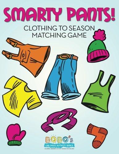 Download Smarty Pants! Clothing to Season Matching Game PDF