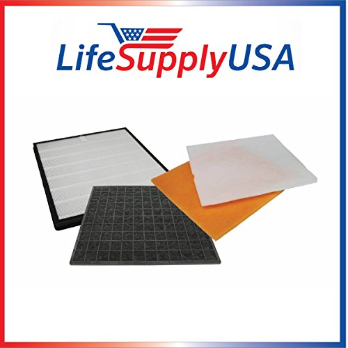 Filter Kit Fits Rabbit Air Air Minus A2 SPA-780A & SPA-780A by LifeSupplyUSA - Rabbit Dust