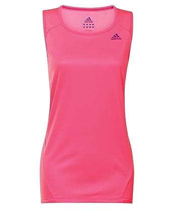 b828d5f86cce13 Adidas Ladies Sequencials Sleeveless Tee (X17485)  Amazon.co.uk  Clothing