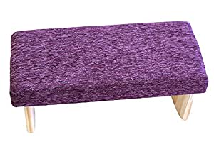 Fixed Legs Meditation Bench Premium Ultra-Light 3 Sizes Many Colors Made in USA (Amethyst 2, Small)