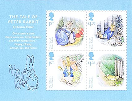 2016 Beatrix Potter Stamps, Presentation Packs, Mini Sheets, PHQ/Postcards (Mini Sheet) Royal Mail .