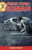 img - for The Savage Sword of Conan Volume 20 book / textbook / text book