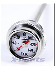 RR öltemperatur pantalla ölthermometer directamente indicador Buell XB 9S XS 12S Blanco