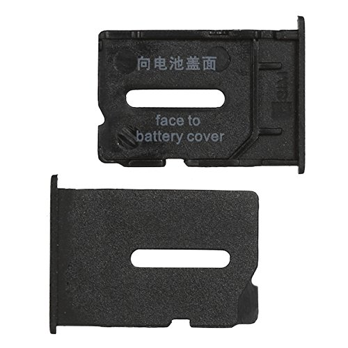BisLinks Sim Card Tray Replacement Part for OnePlus One - Sim Holder Black