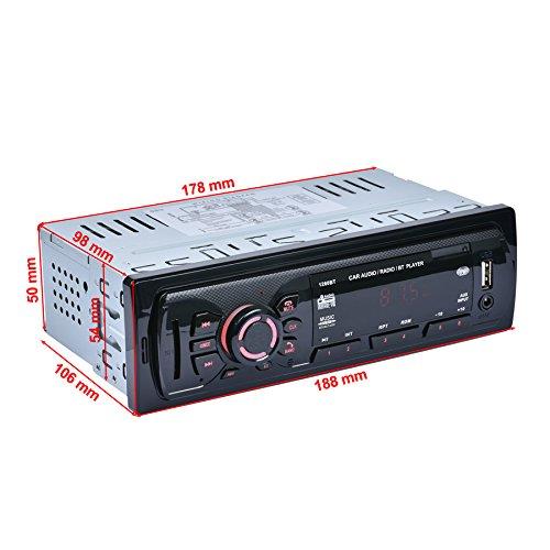 Car Audio Support Bluetooth Car Stereo FM Radio MP3