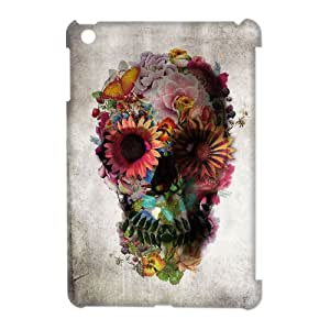 ALICASE Diy Artistic Skull Phone Case For iPad Mini [Pattern-3]