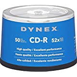 Dynex 50-Pack 52x CD-R Disc Spindle
