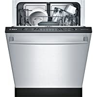 Ascenta Series SHX3AR75UC 24' Built-In Dishwasher with 6 Cycles for Easy Operation Super Capacity of 14 Place Settings 24/7 Overflow Leak Protection and SaniDry Condensation Drying Stainless