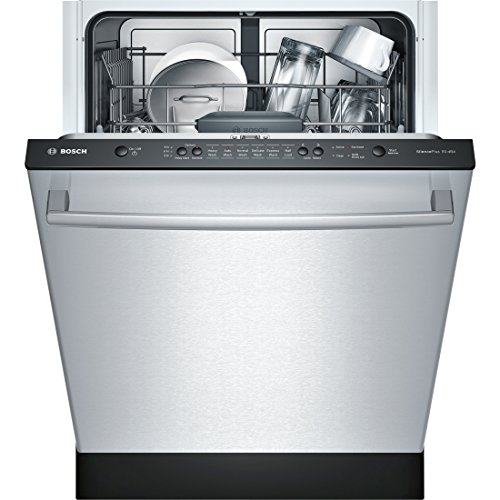 "Bosch SHX3AR75UC Ascenta 24"" Stainless Steel Fully Integrated Dishwasher - Energy Star"
