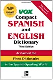 Vox Compact Spanish and English Dictionary, Third Edition (Paperback) (VOX Dictionary Series), Vox, 0071499504