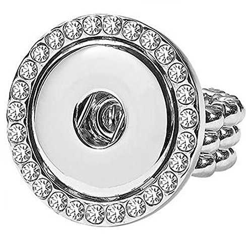 Ginger Snaps Stretch Snap Bling Ring -