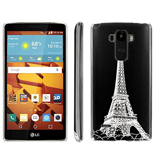 [ArmorXtreme] Phone Case for LG G Stylo LS770 / LG G4 Note Stylus / LG G Stylo H631 / MS631 [Clear] [Ultra Slim Cover Case] - [Eiffel Paris] -  ArmorXtreme for LG G Stylo H631