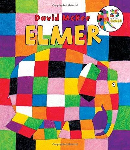 Elmer Board Book by McKee, David (2014) Board book