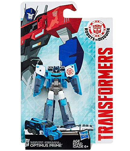 Hasbro Transformers B5593ES0 - Robots in disguise Legion Blizzard Strike Optimus Prime, Actionfigur