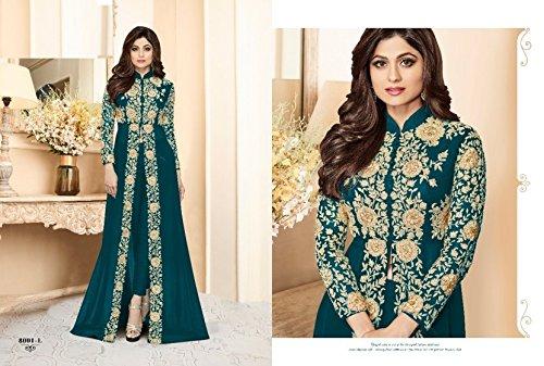 salwar vestito kamiz kameez colorato anarkali musulmano per ETHNIC misurare personalizzato 651 EMPORIUM uomo vestiti stile donne corpetti Bollywood ragazze indiano matrimonio donna pakistano orbace qxwz0O4