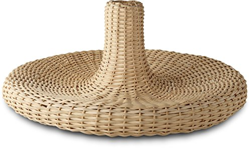 Alessi'Vime' Centerpiece in Rattan, Wood