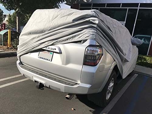 CarsCover Custom Fit 2010-2019 Toyota 4Runner SUV Car Cover Heavy Duty All Weatherproof Ultrashield 4 Runner Covers