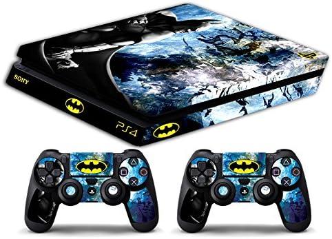 Skin PS4 SLIM HD - BATMAN - limited edition DECAL COVER ADHESIVO playstation 4 SLIM SONY BUNDLE: Amazon.es: Videojuegos