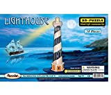 Puzzled Light House 3D Jigsaw Woodcraft Kit Wooden Puzzle