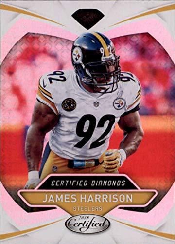 2018 Certified Diamonds #12 James Harrison Steelers Football
