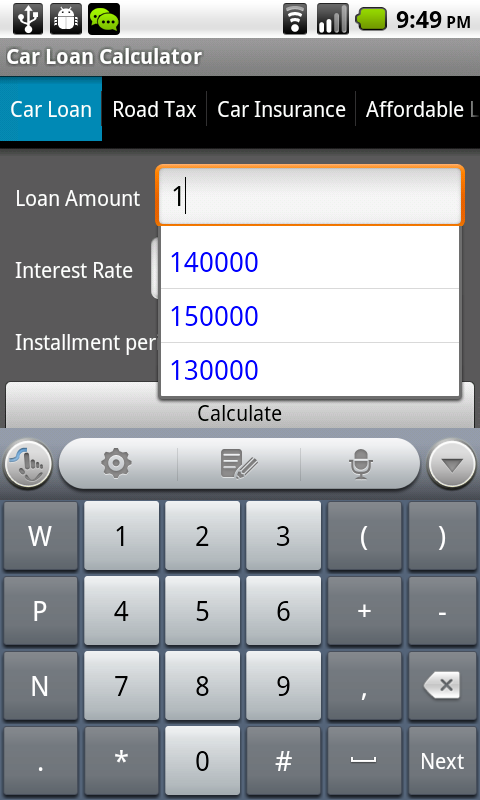 Amazon Com Car Loan Calculator Malaysia Appstore For Android
