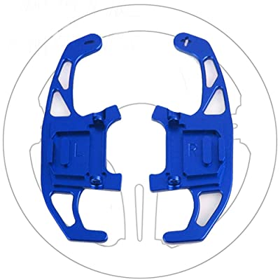 Great-luck Aluminum Steering Wheel Paddle Shifter Extensions Covers,Shifters Replacement Kit 2 pieces(blue) for VW Volkswagen Golf MK7 GTI R R-line Scirocco 2014-2020: Automotive
