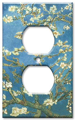 Light Switch Cover Art (Art Plates - Van Gogh: Almond Blossoms Switch Plate - Outlet Cover)