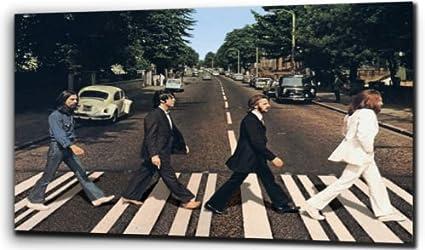 The Beatles Abbey Road Various Sizes Canvas Wall Art Print
